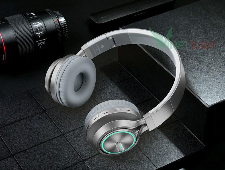 Tai Nghe Bluetooth Picun B6 Hifi Stereo-Khe TF