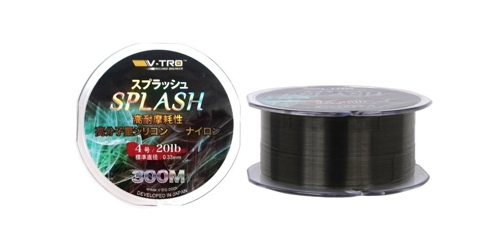 Dây cước câu cá Splash Thương Hiệu V-Tro Nhật Bản 0.33mm - 3