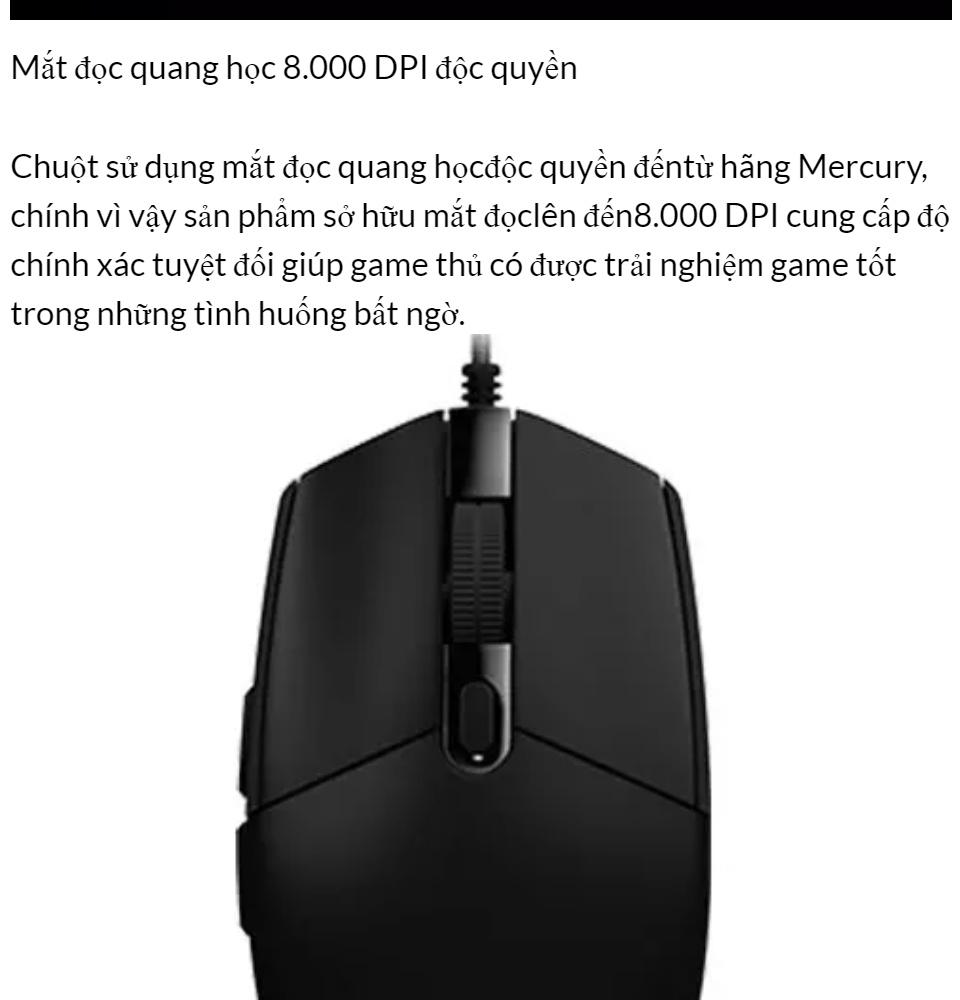 [HCM]Chuột Máy Tính Chuột Chơi Game Chuột game Logitech Có Dây G102 Prodigy RGB LED Hàng Cao Cấp.. 2
