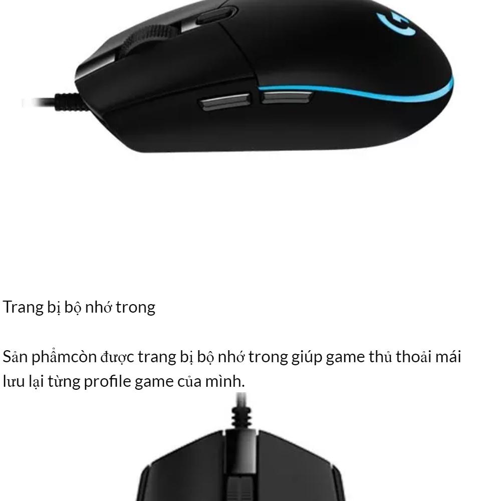 [HCM]Chuột Máy Tính Chuột Chơi Game Chuột game Logitech Có Dây G102 Prodigy RGB LED Hàng Cao Cấp.. 7