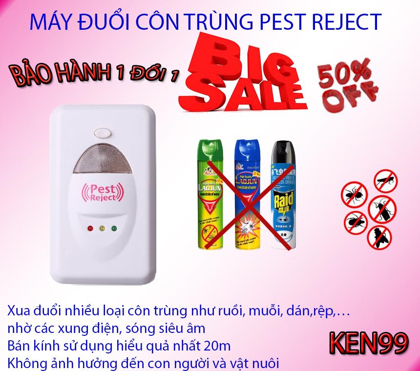 Hình ảnh Bán máy đuổi chuột , Bán máy đuổi muỗi - CHỌN NGAY Máy đuổi muỗi Pest Reject nhập khẩu xua đuổi hoàn toàn côn trùng ra khỏi nhà bạn, Model mới 201801, Giảm sốc 50%, Bảo hành hậu mãi uy tín tại KEN99