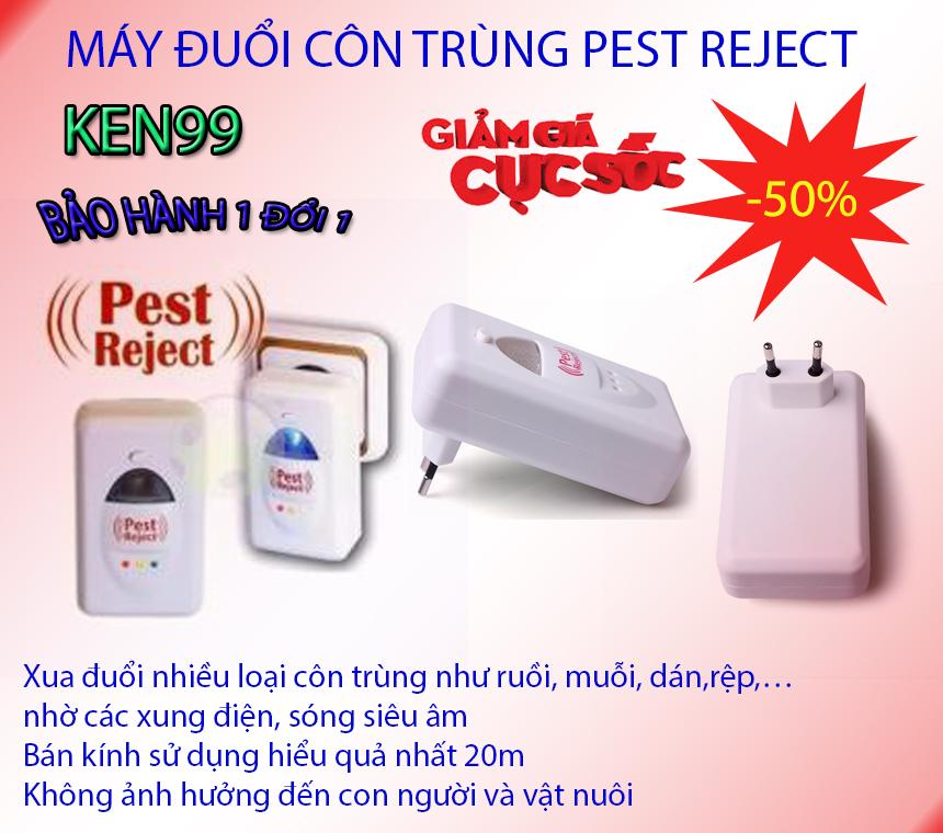 Máy đuổi chuột có hiệu quả không , Máy đuổi chuột côn trùng bằng sóng siêu âm - CHỌN NGAY Máy đuổi muỗi Pest Reject nhập khẩu xua đuổi hoàn toàn côn trùng ra khỏi nhà bạn, Model mới 201863, Giảm sốc 50%, Bảo hành hậu mãi uy tín tại KEN9