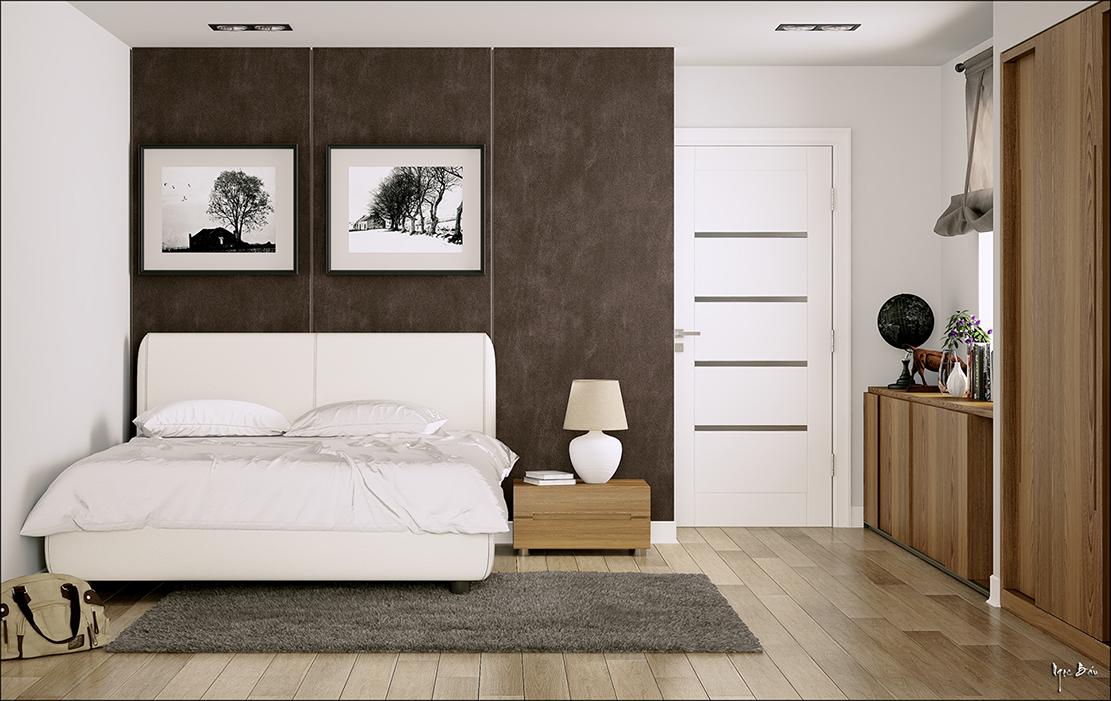tranh treo tường canvas phòng ngủ