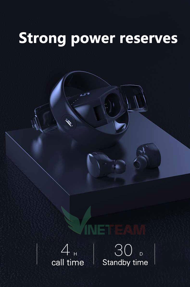 Tai Nghe Bluetooth V4.2 Shinecon TWS TS02