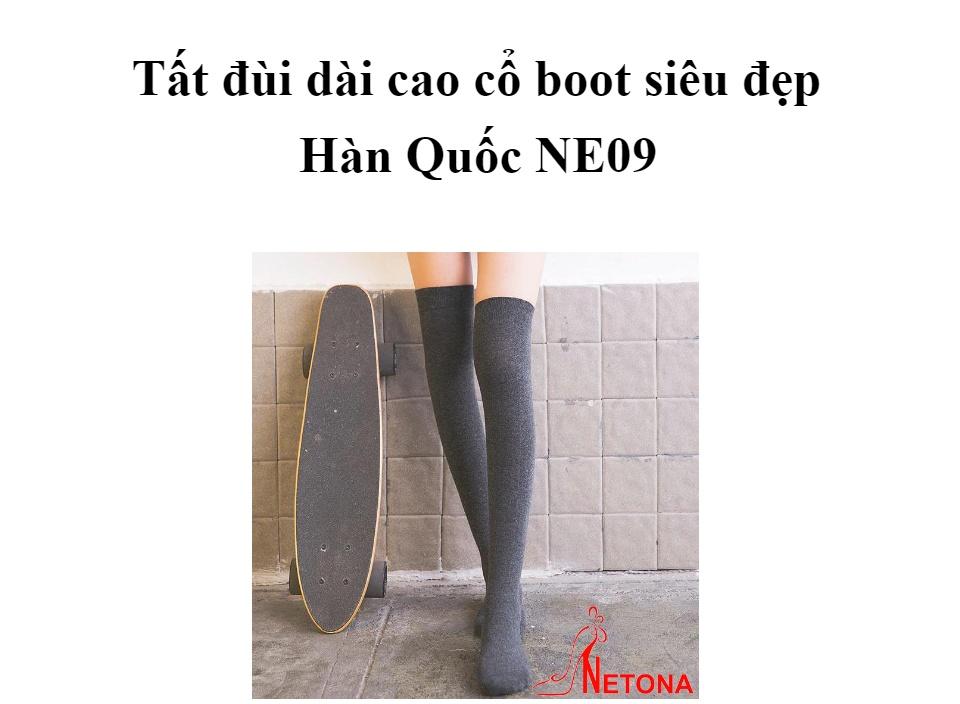 Tất đùi dài cao cổ boot siêu đẹp Hàn Quốc NE09(Kèm ảnh thật) thumbnail