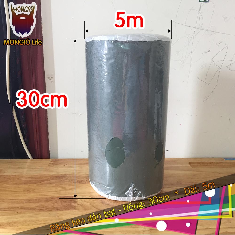 Băng Keo Dán Bạt HDPE Ngập Nước Chuyên Dụng - 30cm x 5m (Màu XANH LỤC)