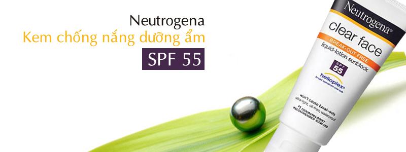 Kem Chống Nắng Neutrogena Clear Face Break-Out Free Liquid Lotion Suns –  BellaDonna Cosmetics (HCM)
