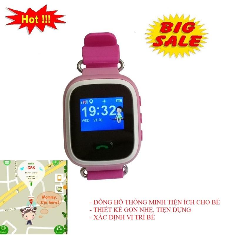 Nơi bán Đồng hồ thông minh nghe gọi, điện thoại dành cho trẻ em - Đồng hồ định vị trẻ em đa chức năng, công nghệ mới, theo dõi sức khỏe của bé, nghe nhận cuộc gọi đến, gọi khẩn cấp cho người thân - CM1688001