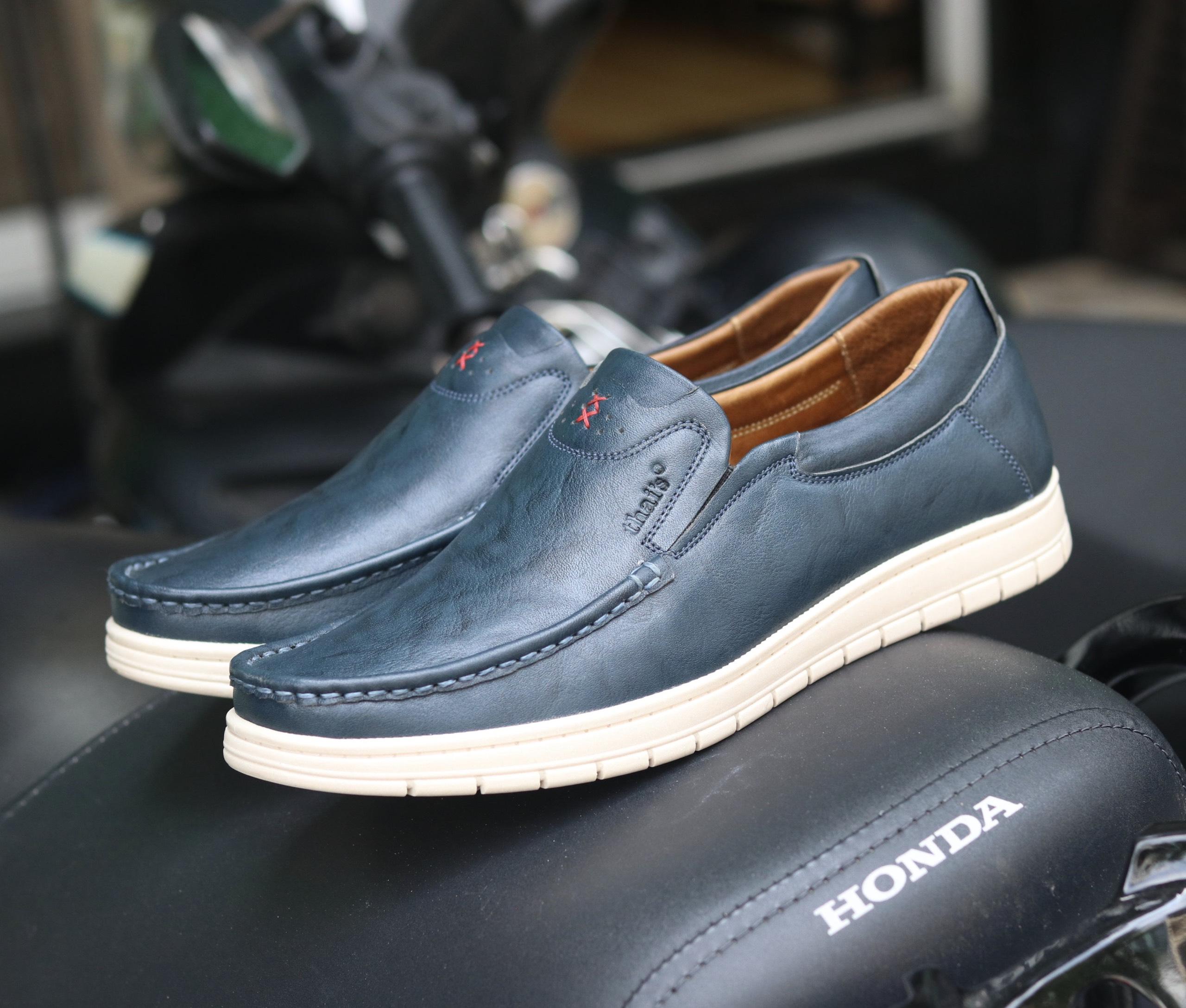 Giày lười da Thái Lan đẹp sang trọng TH04 (Ảnh 1)
