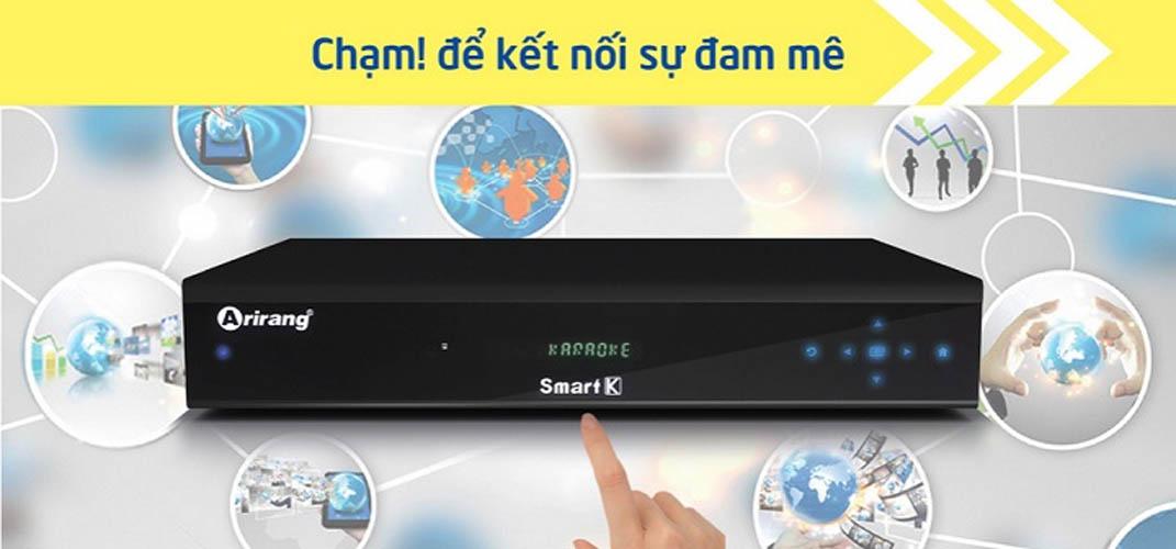 Đầu Karaoke Vi Tính Arirang Smart K , Kèm ổ cứng 3T đã chép nhạc, Đã cài App Smart Karaoke Player Pro (Ảnh 4)
