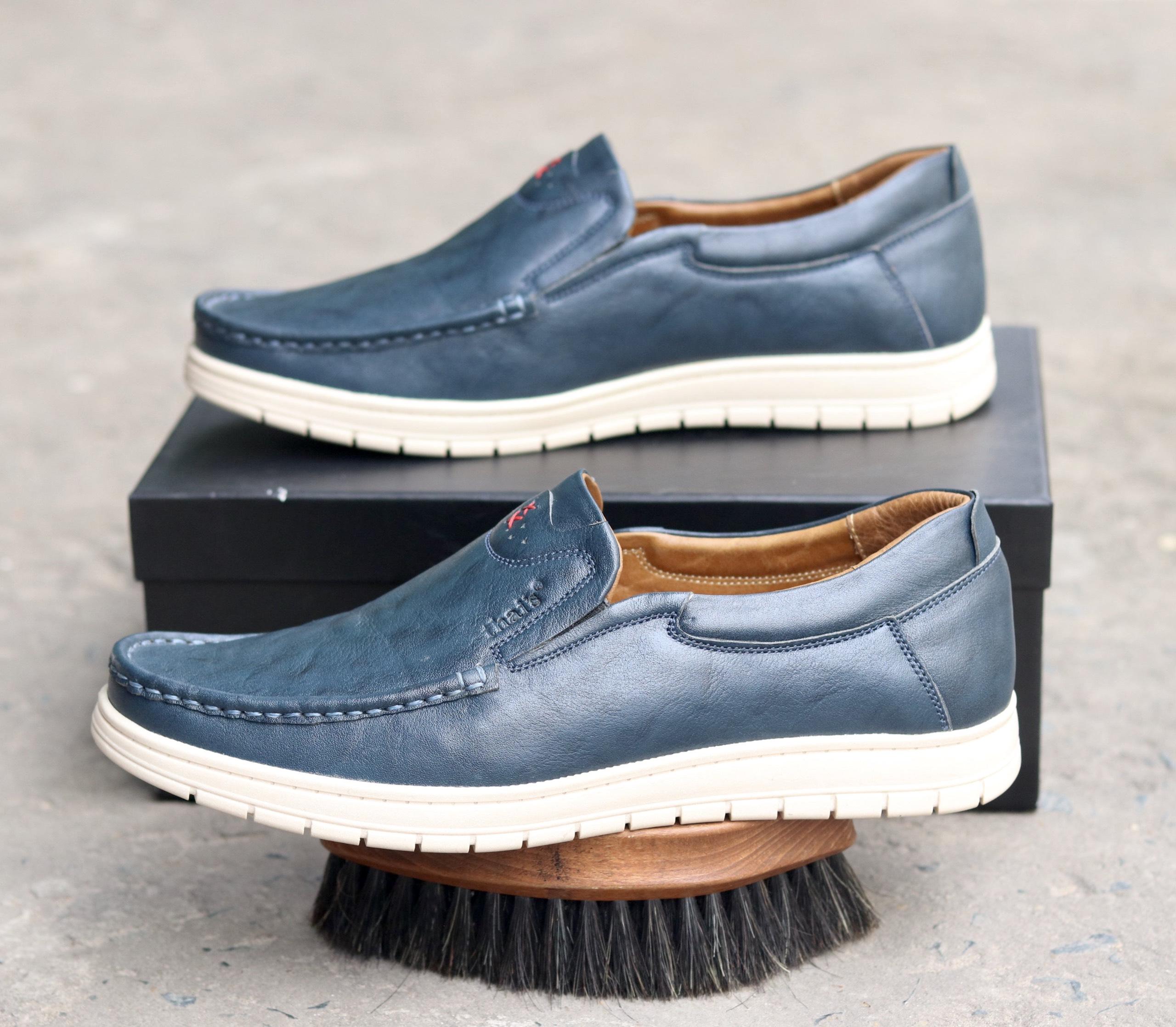 Giày lười da Thái Lan đẹp sang trọng TH04 (Ảnh 4)