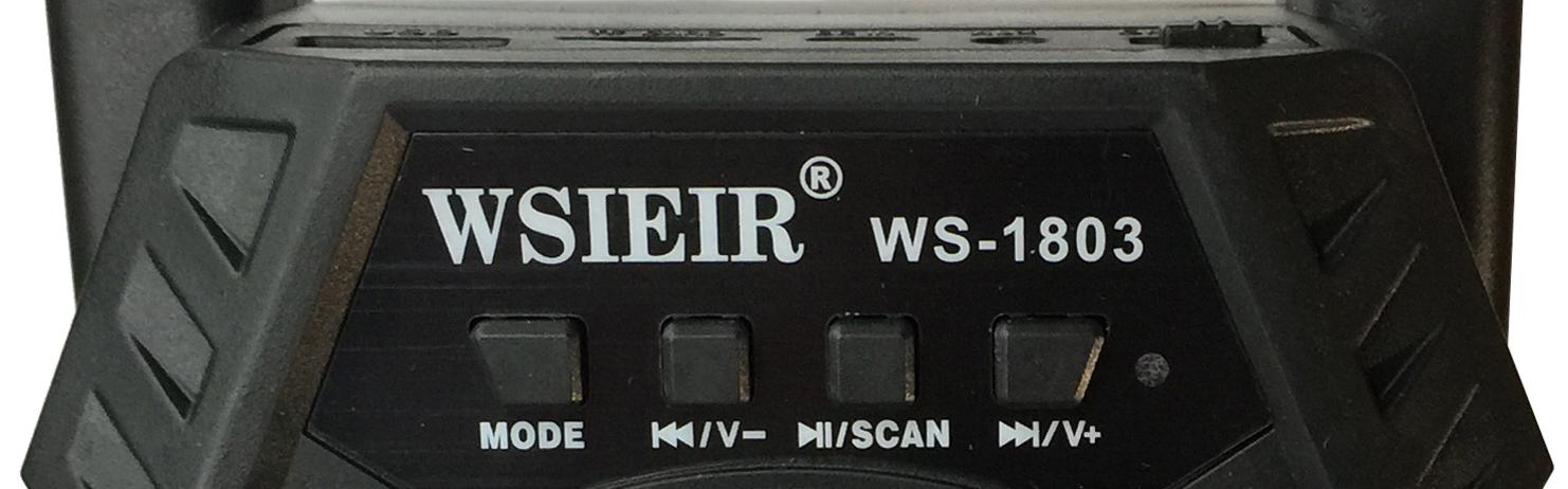 Loa Bluetooth Mini WSIEIR Model: WS -1803 - 1