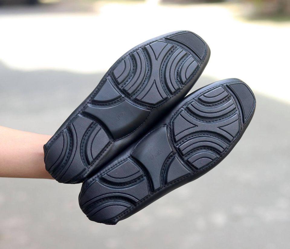 Giày mọi nam da bò thật - Giày mọi Thái Lan - Giày da công sở, giày nam đẹp TH001 (Ảnh 5)