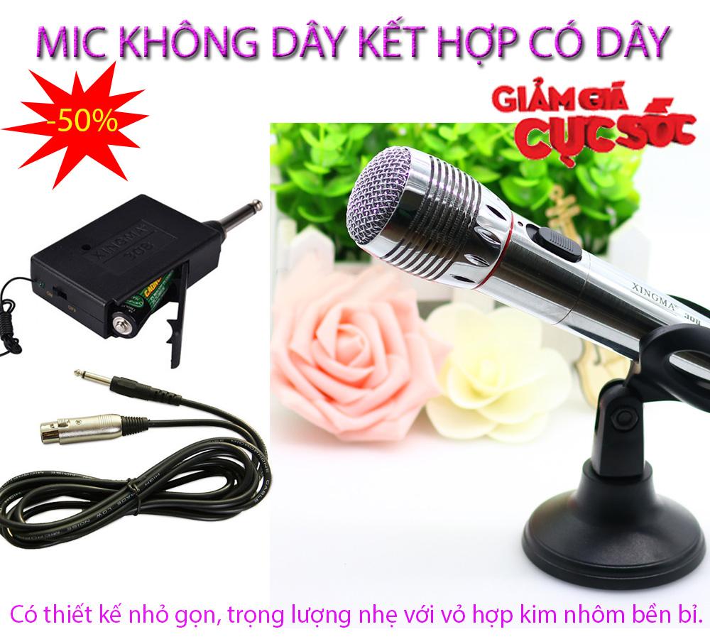 Giá mic hát karaoke , Giá mic karaoke - CHỌN NGAY MICRO XINGMA AK-308 LoẠI CAO CẤP, Âm thanh trong, chất lượng tuyệt hảo, Model XMA-96, Giảm sốc 50%, Bảo hành 1 đổi 1 trên Toàn Quốc