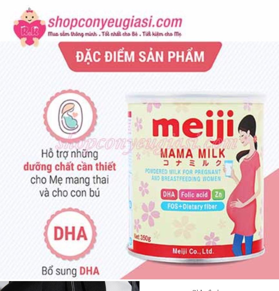[Hàng Cty - Sale] Sữa Meiji Mama 350g date luôn mới ( Hàng nhập khẩu ) 1