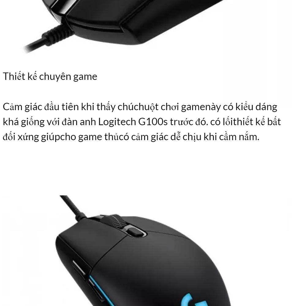 [HCM]Chuột Máy Tính Chuột Chơi Game Chuột game Logitech Có Dây G102 Prodigy RGB LED Hàng Cao Cấp.. 5