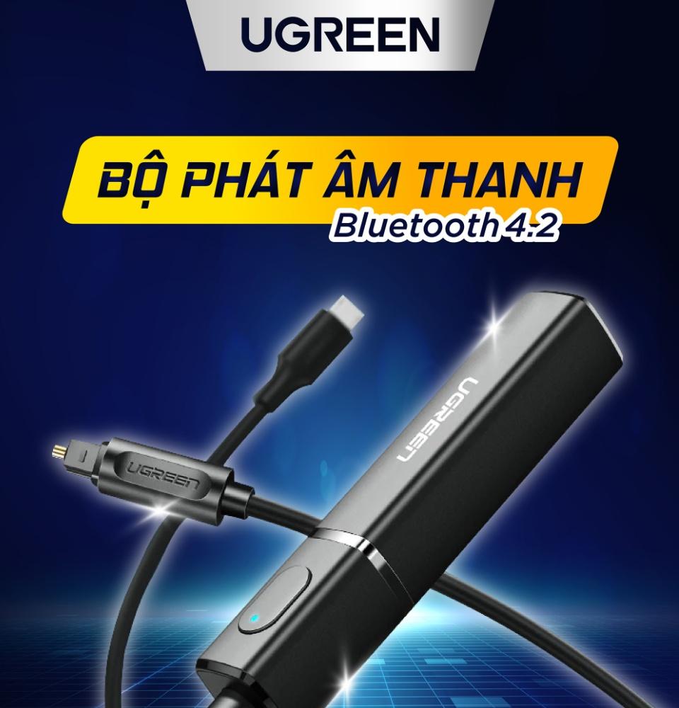 Bộ Phát Âm Thanh Bluetooth 5.0 Ugreen Hãng Phân Phối Chính Thức