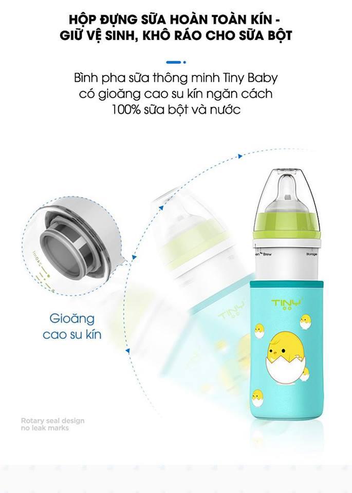 Bình pha sữa thông minh Tiny Baby