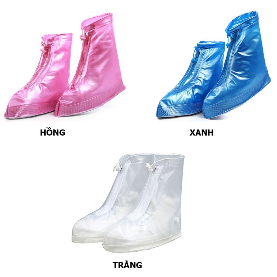 Giày đi mưa dáng bệt không ngấm nước thông minh chống trượt siêu bền 9