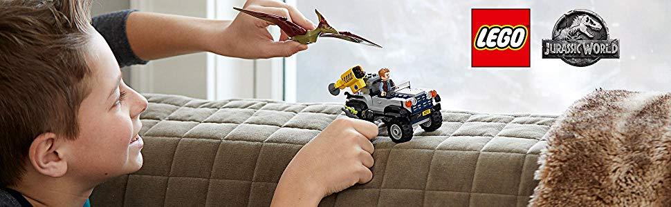 Bộ xép hình lego công viên kỉ Jura