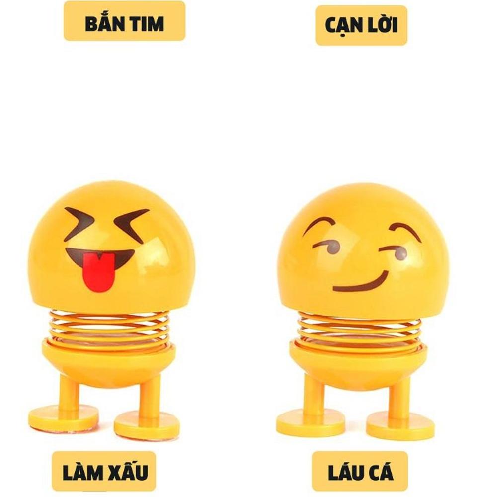 Thú nhún Emo.ji lò xo lắc đầu hình biểu tượng cảm xúc đáng yêu SP001635 - Thị trấn đồ chơi 3