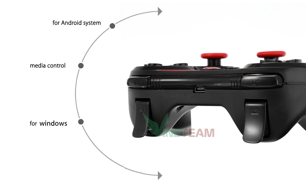 Tay-Cầm-Chơi-Game-Bluetooth-S6-Android/IOS/Windows (Đen)