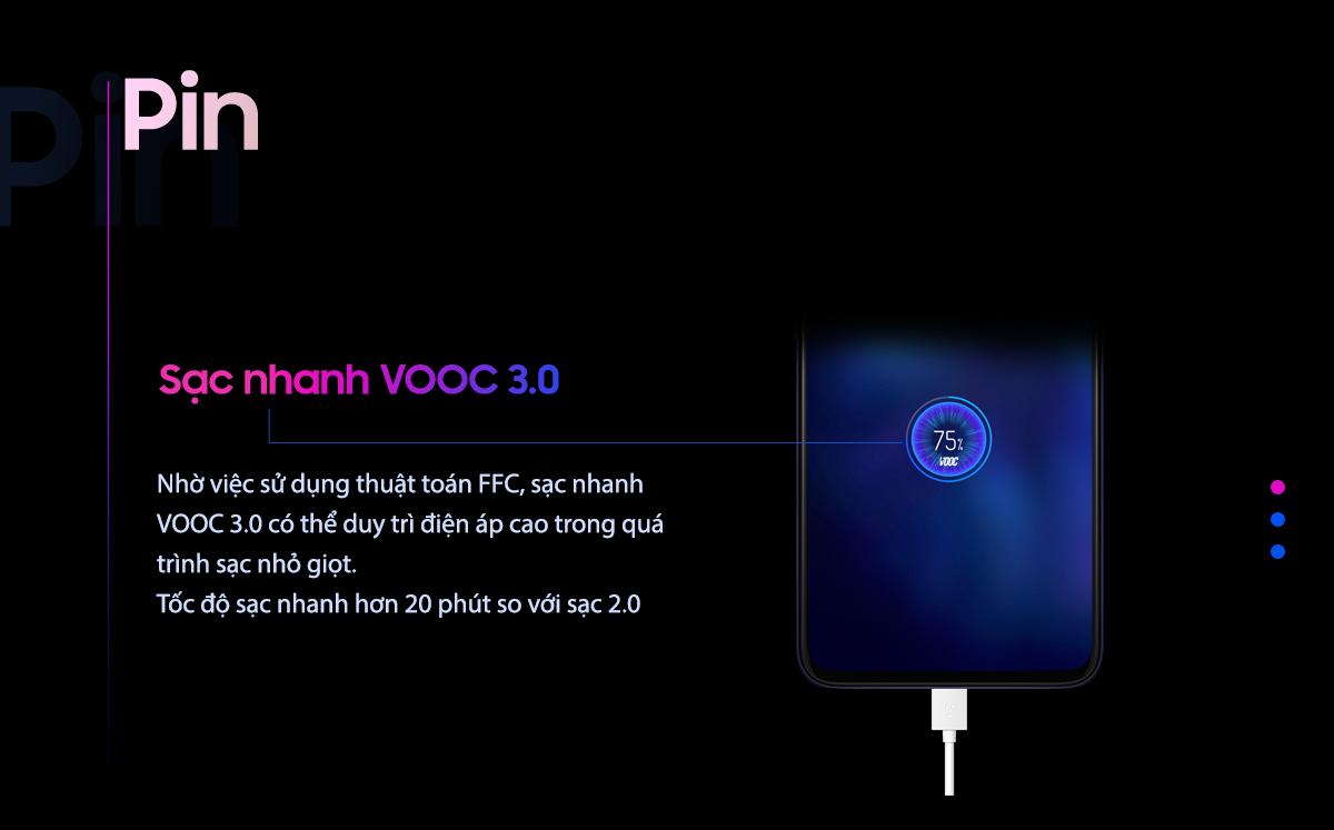 OPPO F11 SẠC NHANH VOOC 3.0