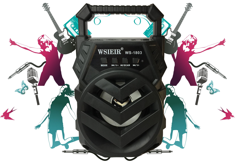 Loa Bluetooth Mini WSIEIR Model: WS -1803