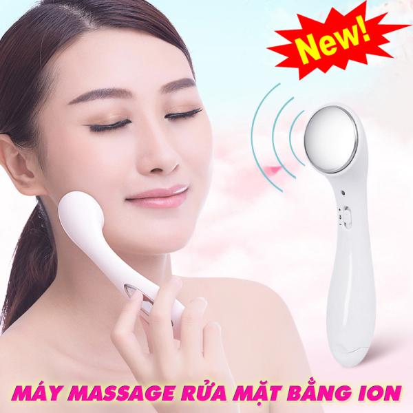 Máy massage mặt Ion mini cầm tay hàng nhập