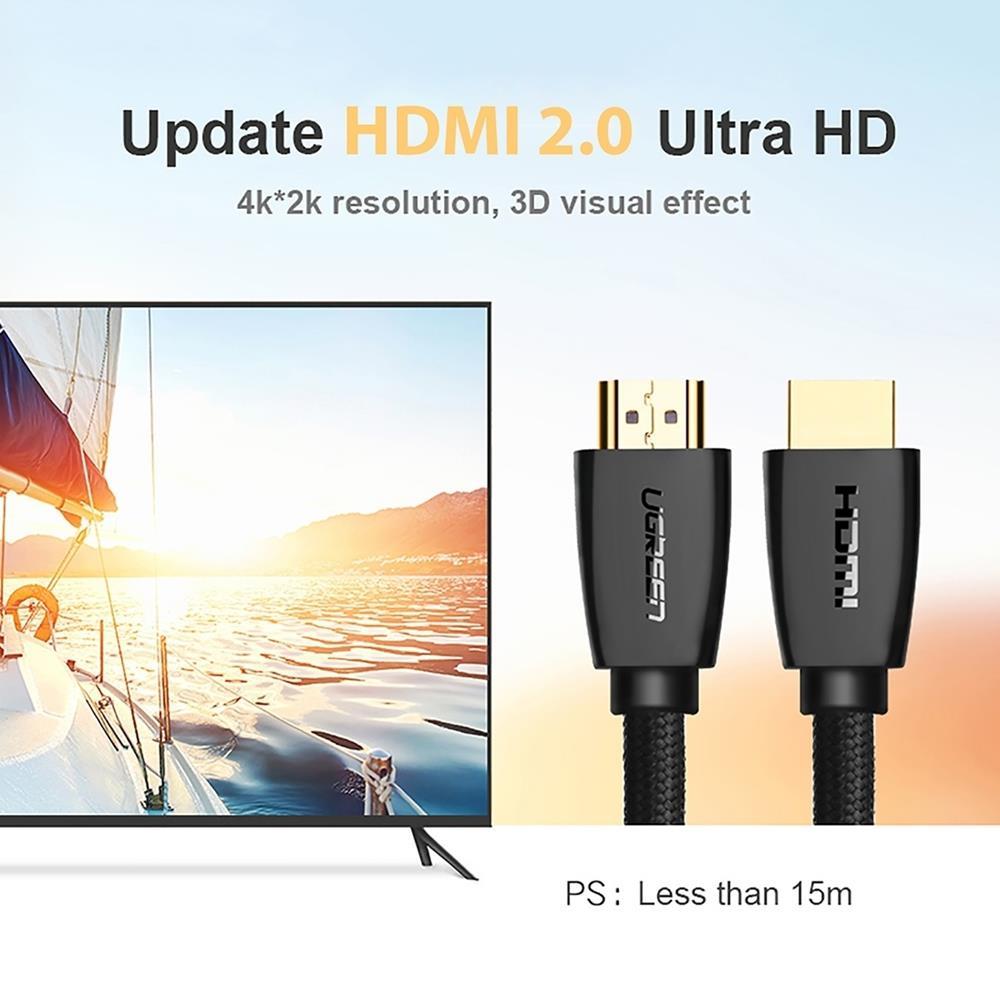 Cap-HDMI-2.0-ho-tro-3D-4K-dai-1.5m-Soi-Ben-Lưoi-Cao-Cap-UGREEN-HD118-40409-2