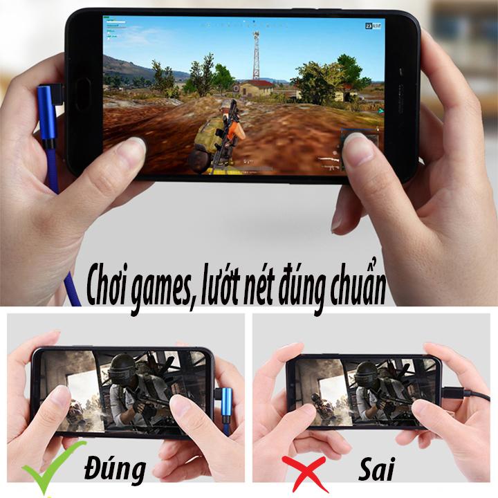 Image result for Cáp sạc Iphone Ipad chuyên chơi games và lướt nét