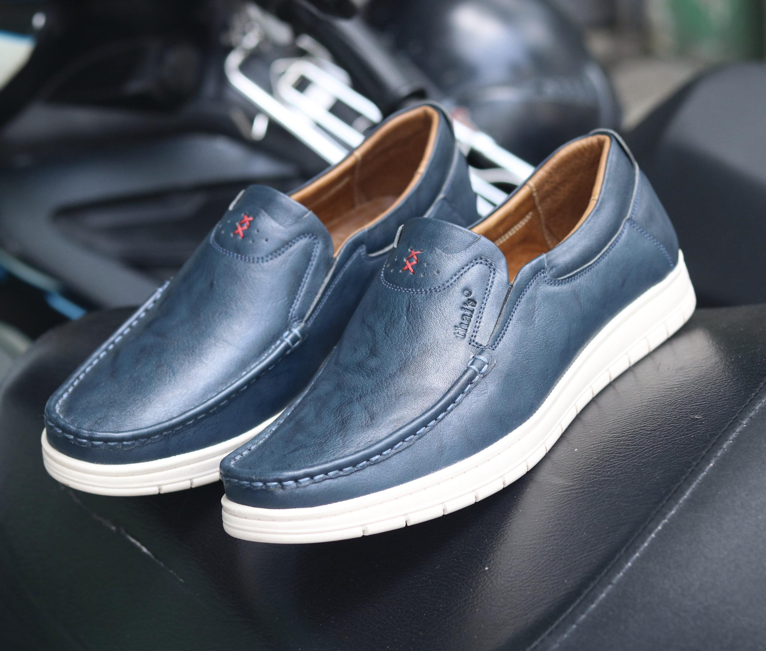 Giày lười da Thái Lan đẹp sang trọng TH04 (Ảnh 6)