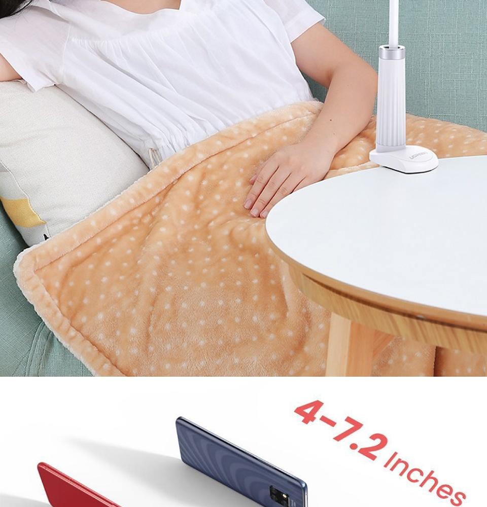 Giá đỡ điện thoại dạng cổ ngỗng, cài kẹp khe bàn, rảnh tay, dài 90cm, dễ dàng tùy chỉnh góc xoay UGREEN LP113 30488