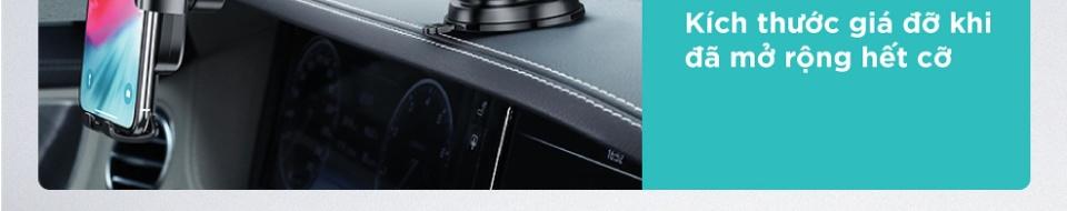Giá đỡ smartphone UGREEN dạng hít trên mặt kính chắn gió 60990 - Xoay góc 360 độ tùy theo nhu cầu,