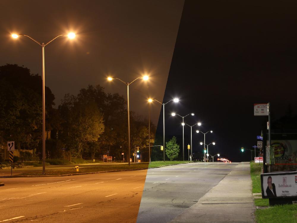 ứng dụng đèn led chiếu sáng đường phố COB 200W (c09-01-200)