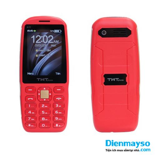 Điện thoại THT A11 Màu đỏ