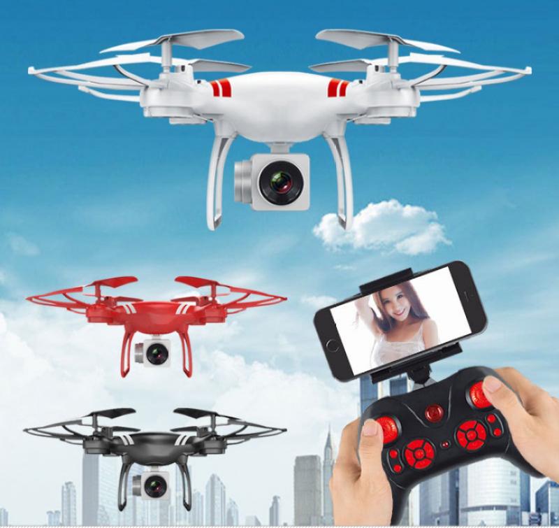Máy bay điều khiển từ xa có camera, máy bay camera giá rẻ, máy bay quay phim, flycam giá rẻ  - Máy bay công nghệ mới Selfie trên cao Flycam KY101 cao cấp, Máy bay chuyên chụp ảnh trên cao, flycam bán chạy hiện nay BH 1 Đổi 1-NH2268