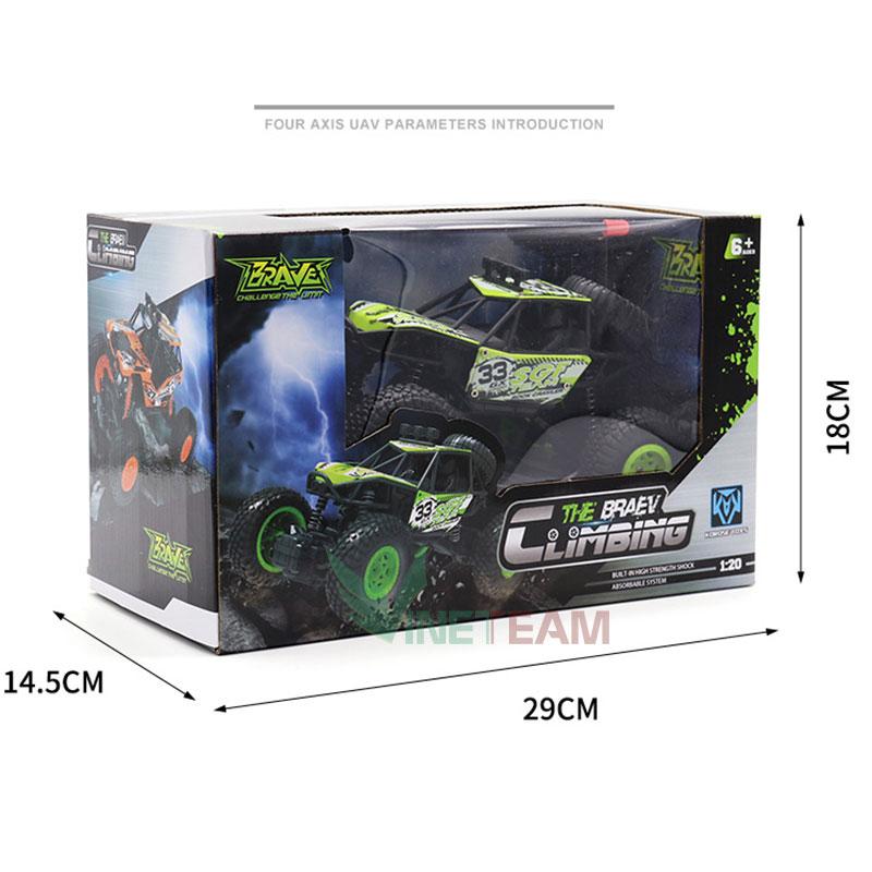 Đồ Chơi Xe Ôtô Địa Hình 2 Cầu Rock Crawler 33GX JC8212 (Cam)