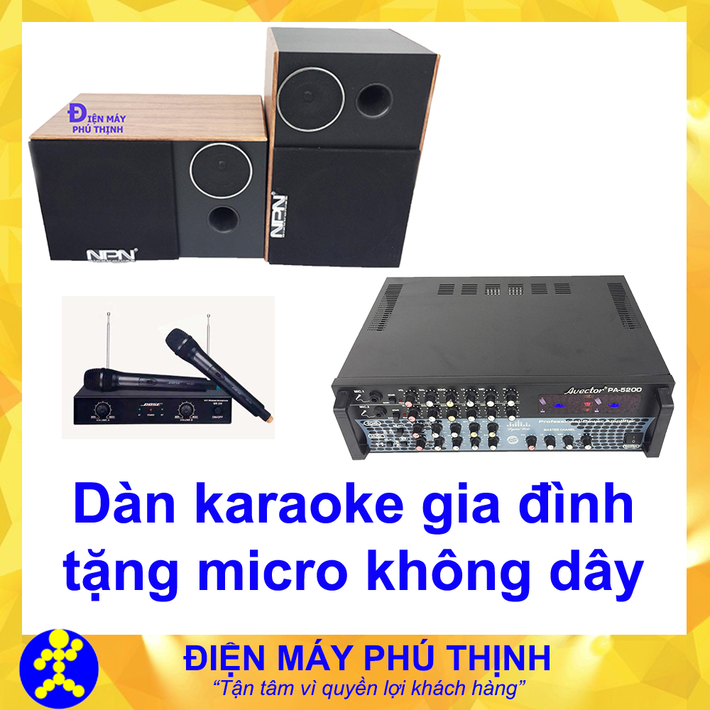 Dàn amply hát karaoke giá rẻ