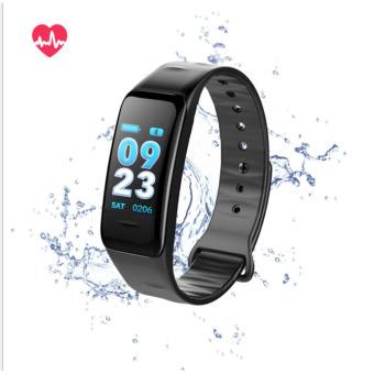 Cua hang ban dong ho thong minh, thiết bị đeo thông minh - Vòng đeo tay thông minh cao cấp, Màn hình màu, kích thước lớn, Kết nối Bluetooth, Đa chức năng, Giá Hủy Diệt, VDTC1S014