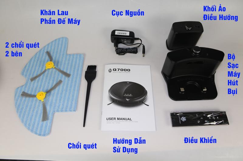 Robot Hút Bụi Thông Minh Wilson Q7000 tại Hệ thống Laptopxachtayshop.com