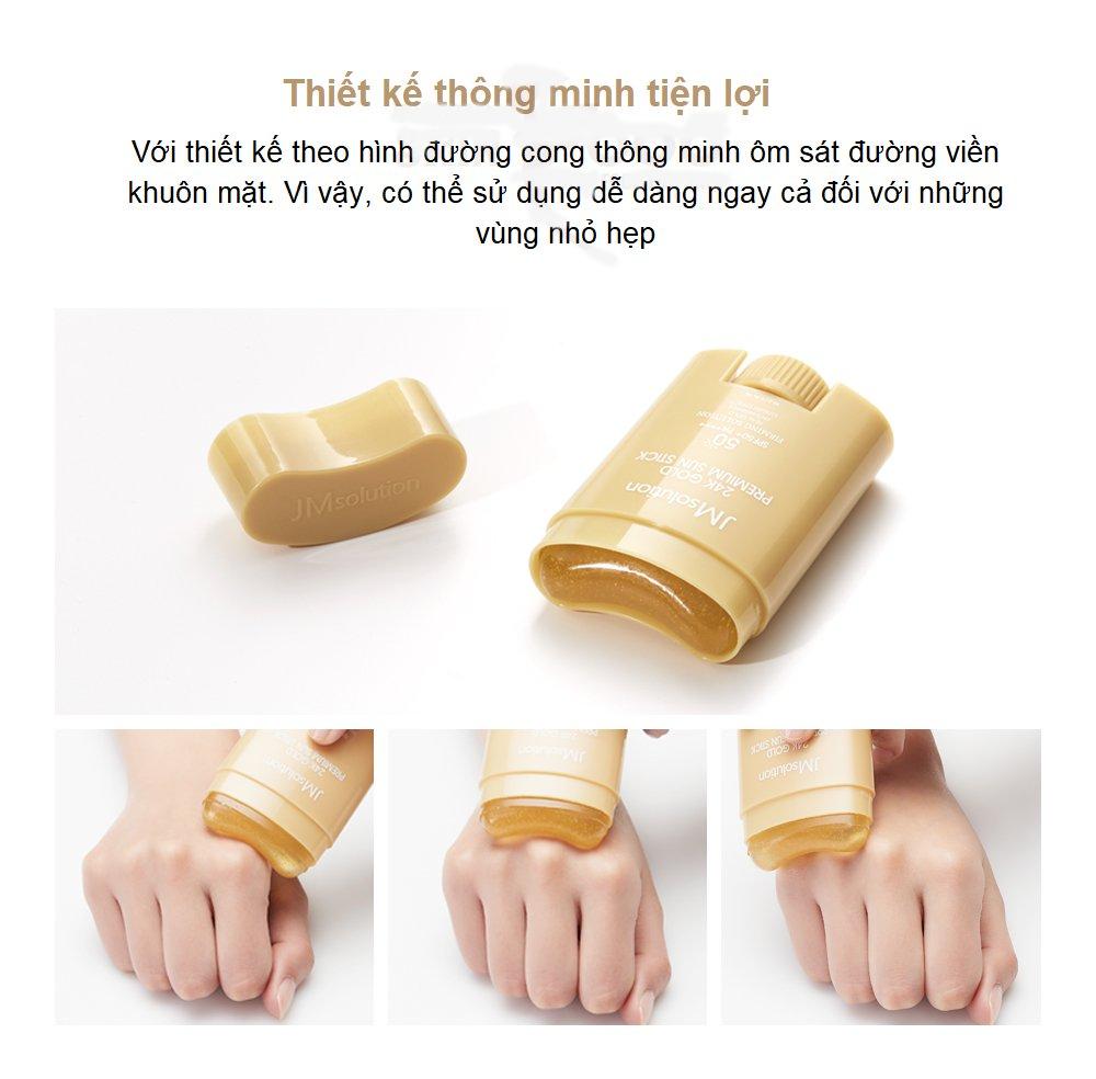 Thỏi Chống Nắng Bảo Vệ Cao, Chống Trôi JMsolution 24K Gold Premium Sun –  BellaDonna Cosmetics (HCM)