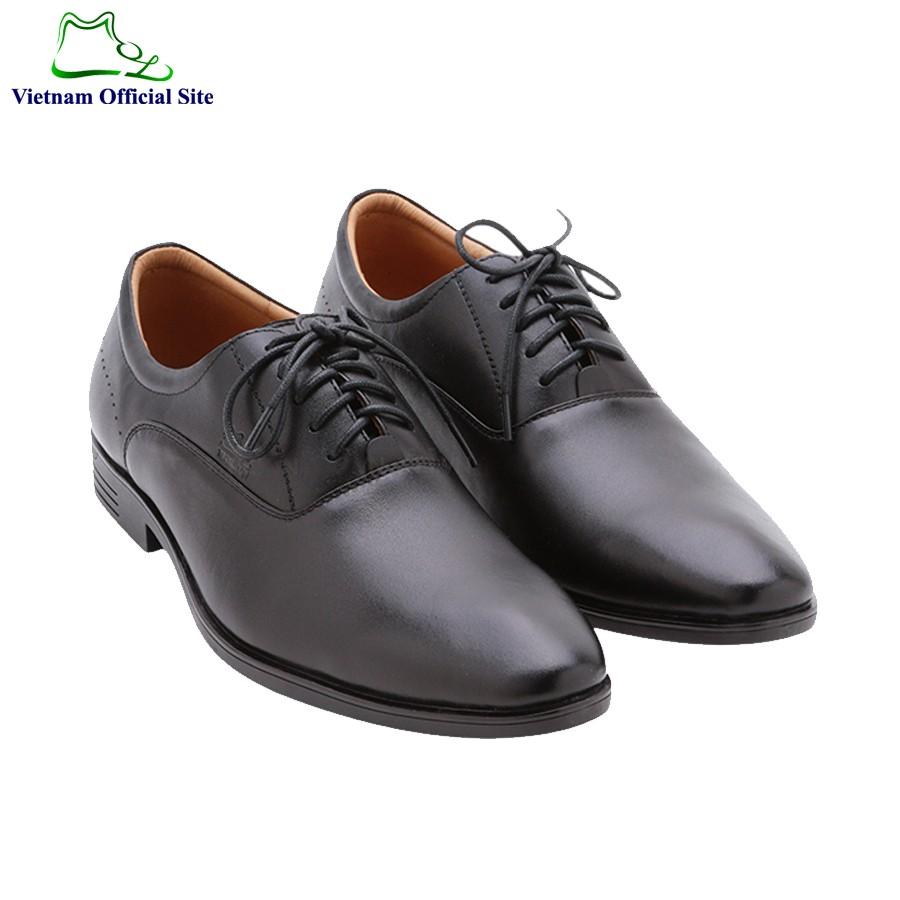 Giày tây da bò thời trang nam hiệu MOL MT129B