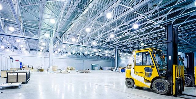 ứng dụng đèn led công nghiệp nhà xưởng