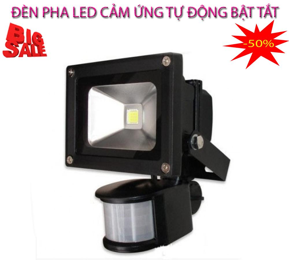 Bóng đèn cảm ứng ánh sáng , Bóng đèn chiếu sáng - CHỌN NGAY ĐÈN LED CẢM BiẾN Hồng ngoại 10W tự động bật tắt, Cảm ứng chuyển động, Model mới DH10X-30, Giảm sốc NGAY TRONG HÔM NAY 50%, bảo hành uy tín 1 đổi 1 Sp