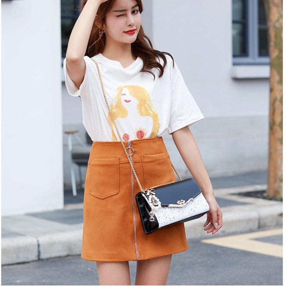 Túi Đeo Chéo Nữ Phong Cách Hàn Quốc Phù Hợp Với Mọi Set Đồ, Túi xách nữ, Túi đeo chéo nữ tui đeo nữ, túi xách nữ, túi đeo chéo, túi xách nữ sang chảnh 7