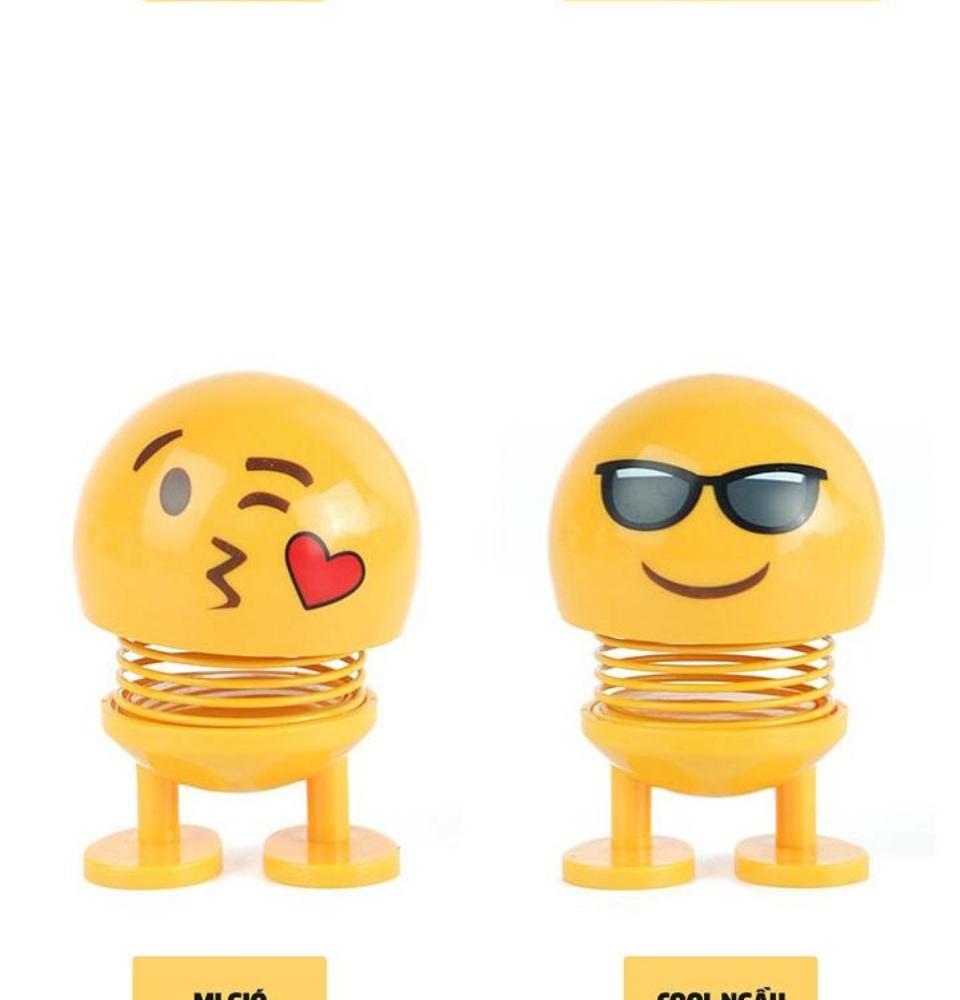 Thú nhún Emo.ji lò xo lắc đầu hình biểu tượng cảm xúc đáng yêu SP001635 - Thị trấn đồ chơi 5