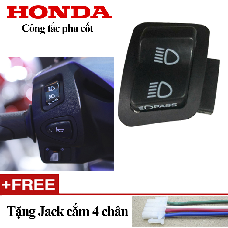 Coupon Khuyến Mại Công Tắc Pass,Đá đèn Pha Xe SH Mode,PCX HONDA
