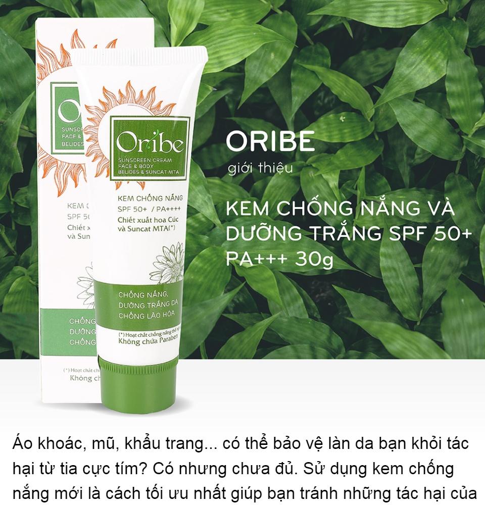 Kem Chống Nắng Vật Lý và Hoá Học, Dưỡng Trắng - Oribe Sunscreen Cream  SPF50+ PA+++ - 30g | Lazada.vn