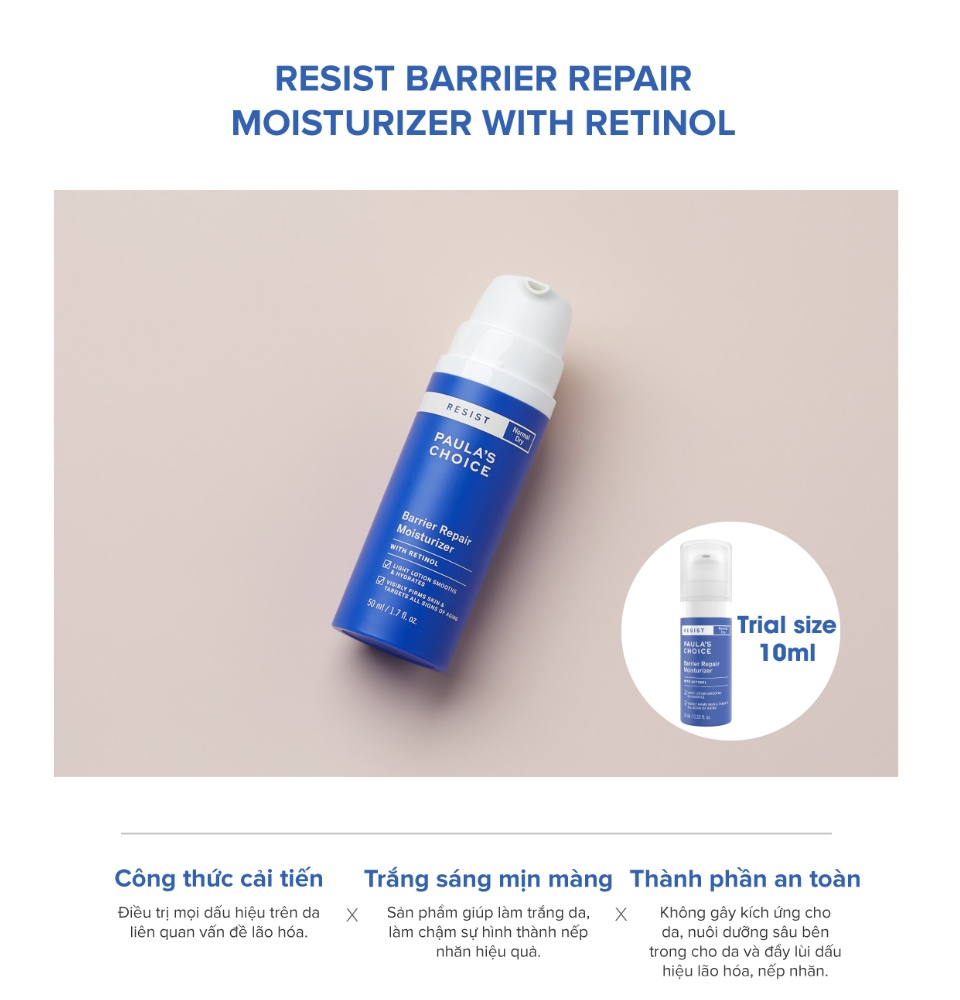 Image result for Paula's Choice Resist Barrier Repair Moisturizer With Retinol